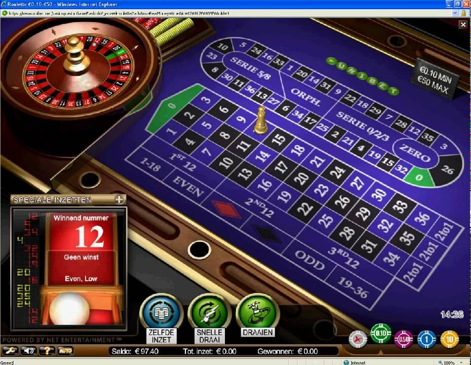 Speltips roulette Unibet - 94640