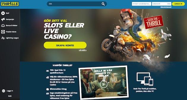 Thrills casino flashback - 92454