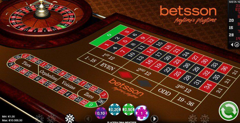 Roulette termer vill - 3054