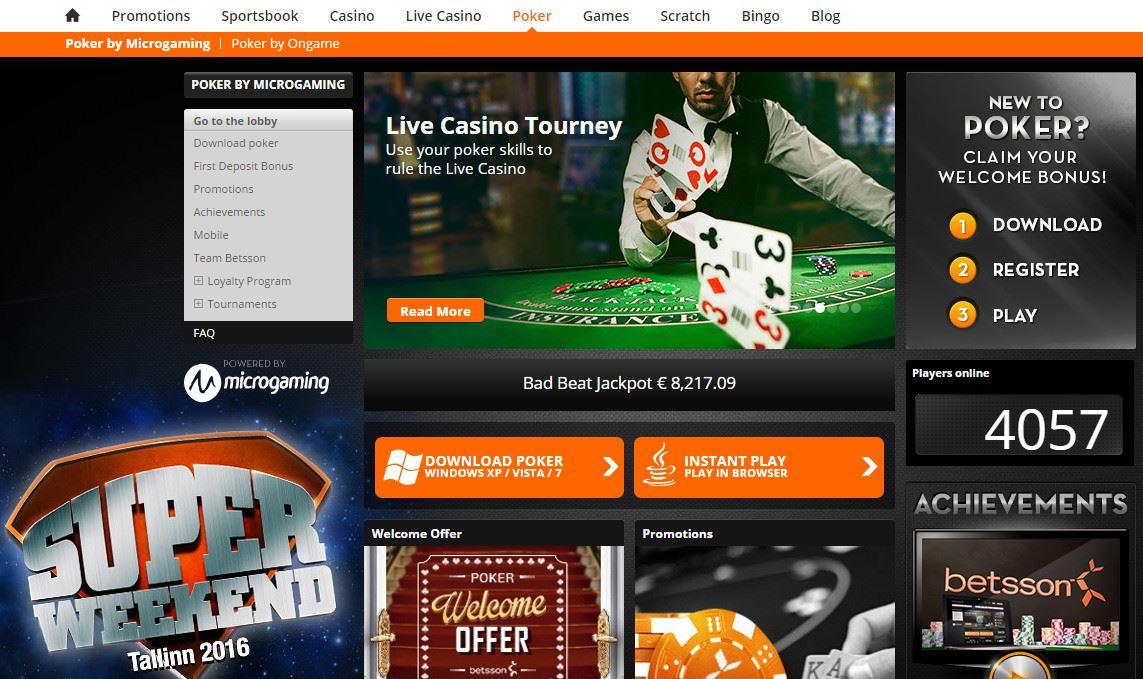 Casinoerbjudande varje vecka - 26500