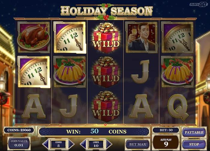 Holiday Season slot - 31715