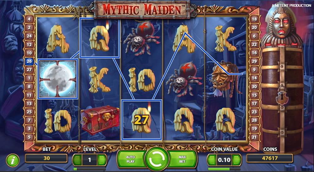 Insättningsfria freespins Mythic - 66550