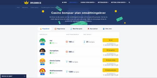 Casino utan - 30215