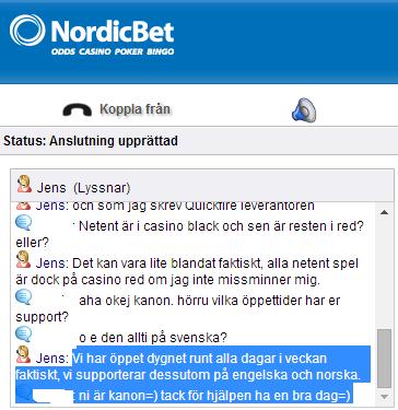 Nordic bet recension - 1661