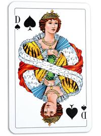 Dam kortspel - 29395