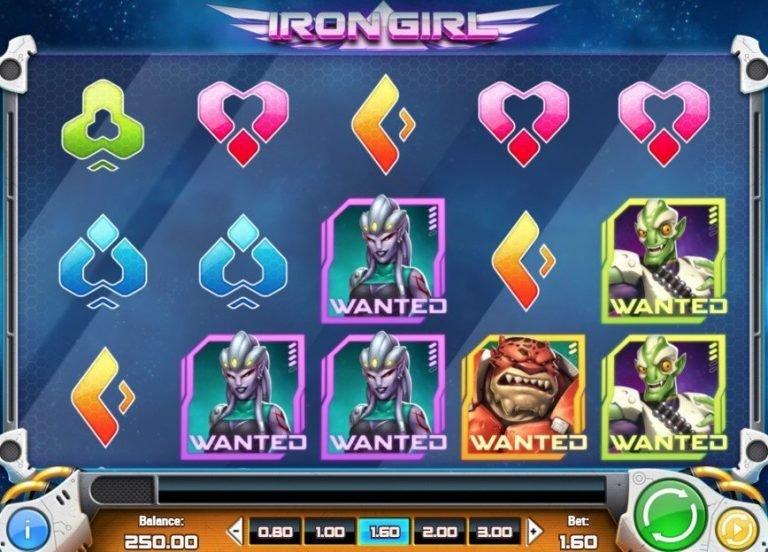 Iron Girl slot - 86850