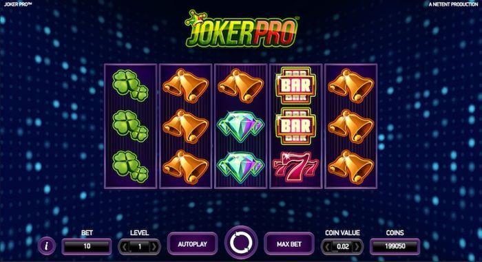 Joker Pro slot - 54071