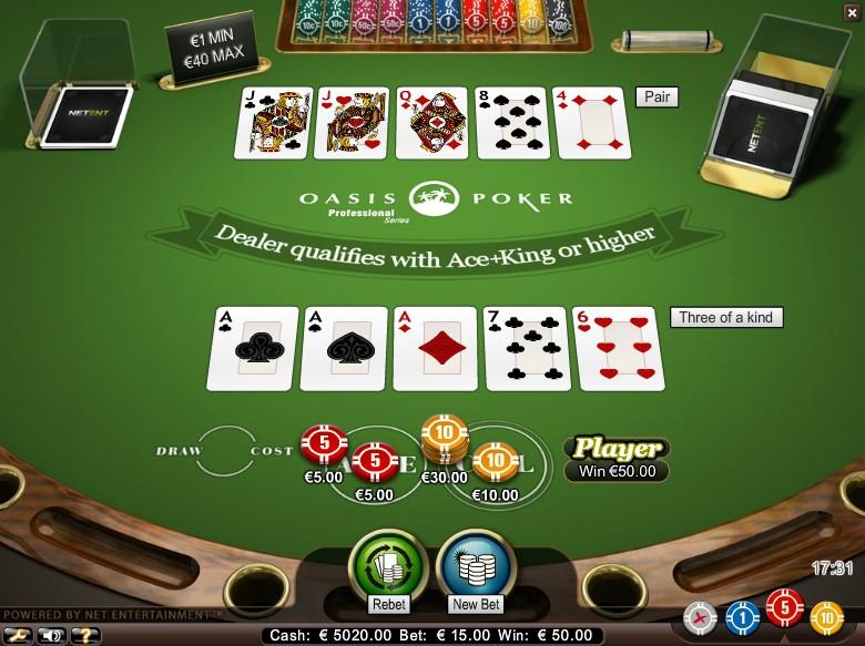 Poker spelas Live - 68225