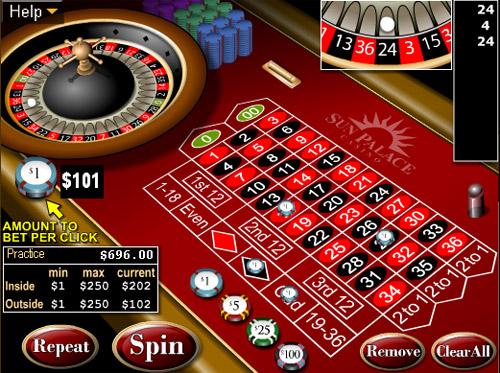 Roulette spel - 34075