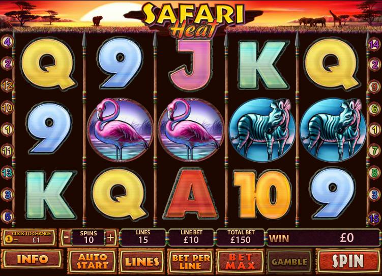 Safari Heat - 37977