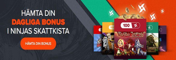 Dagliga free spins - 67987