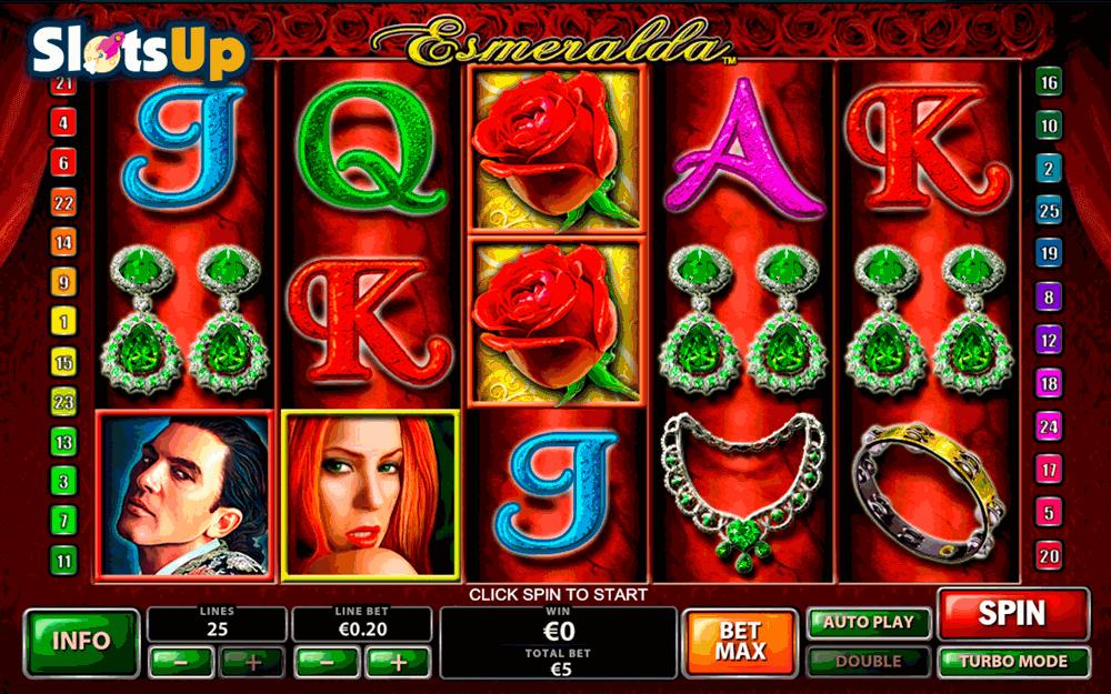 Video Esmeralda slot - 8813