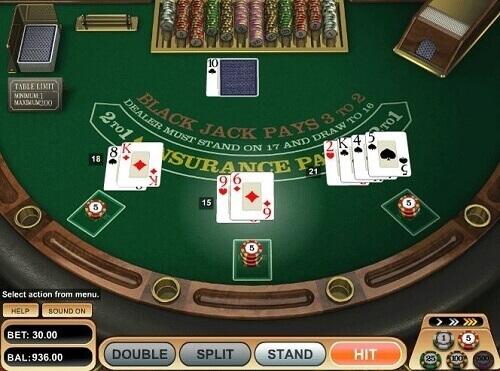 European Blackjack - 33461