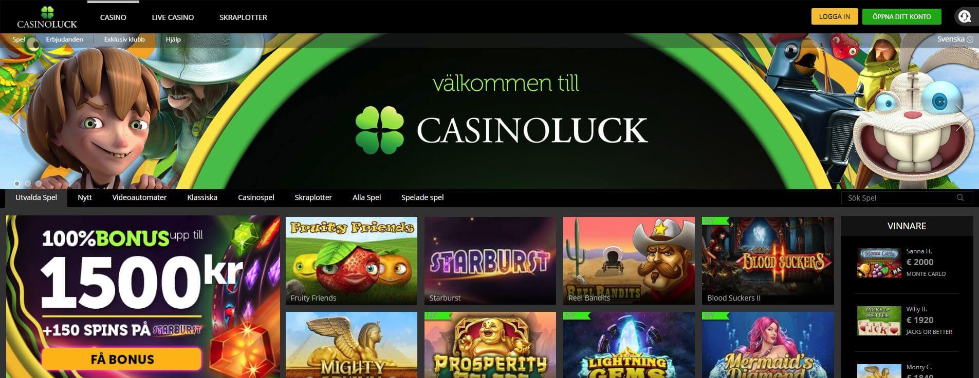Casinostatistik spelande - 16229