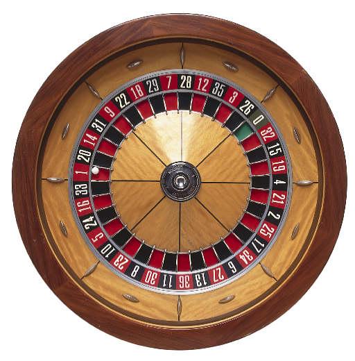 Roulette hjul - 58412