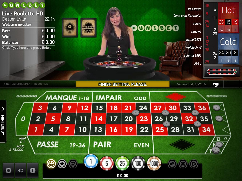 Speltips roulette - 26447