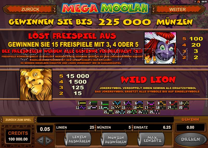 Mega moolah - 47184