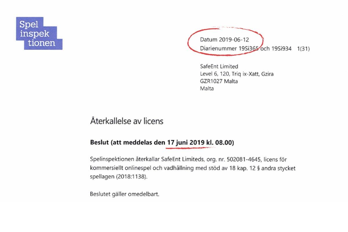 Svenska spel insättningsgräns - 30258