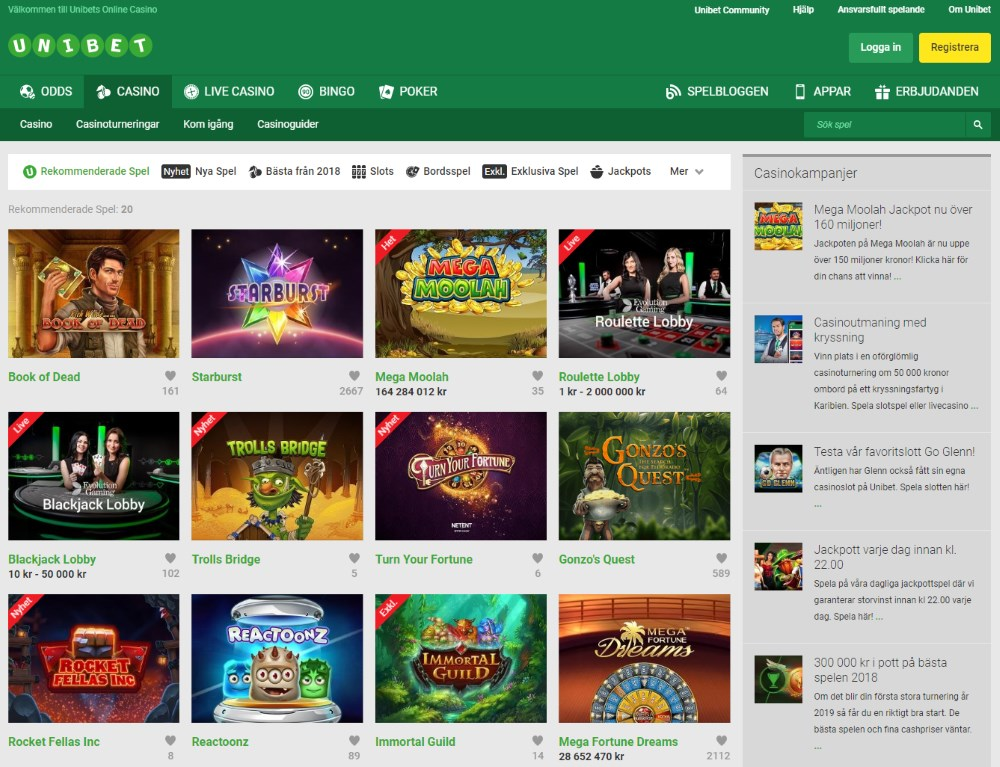 Recension casino betting - 30506