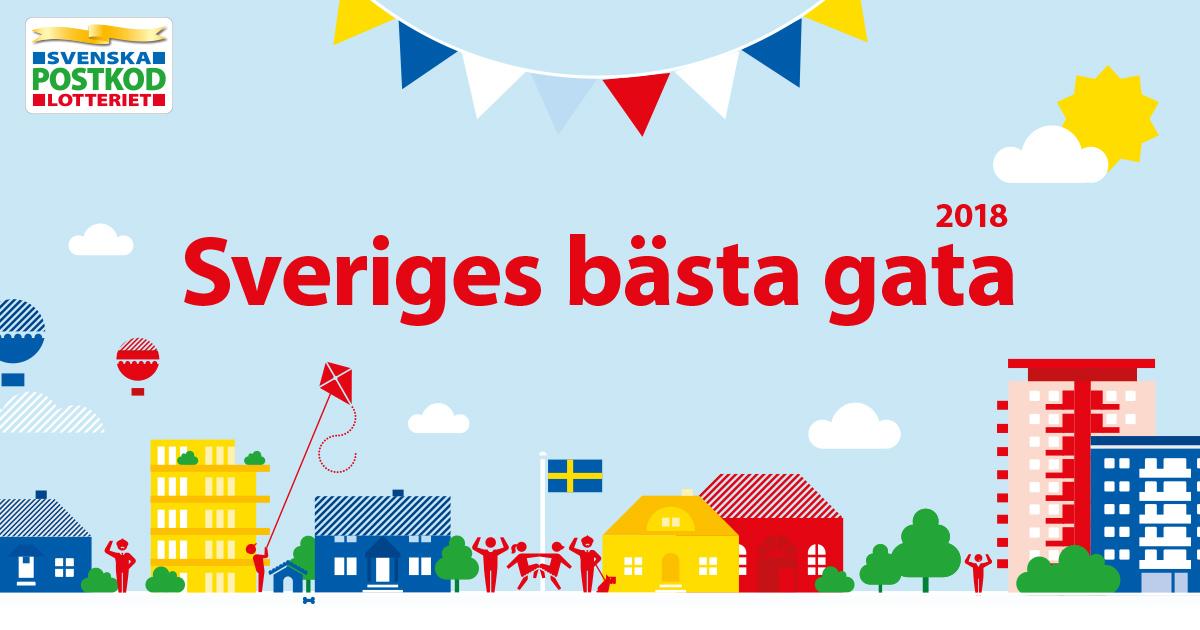 Postkodlotteriet vinstkarta svenska - 24189