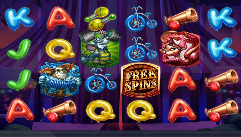 Circus free spins - 89880