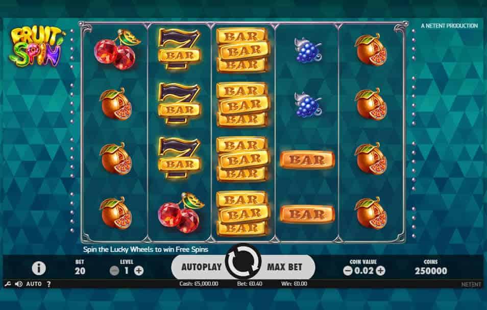 Fruit Spins Slot - 14178