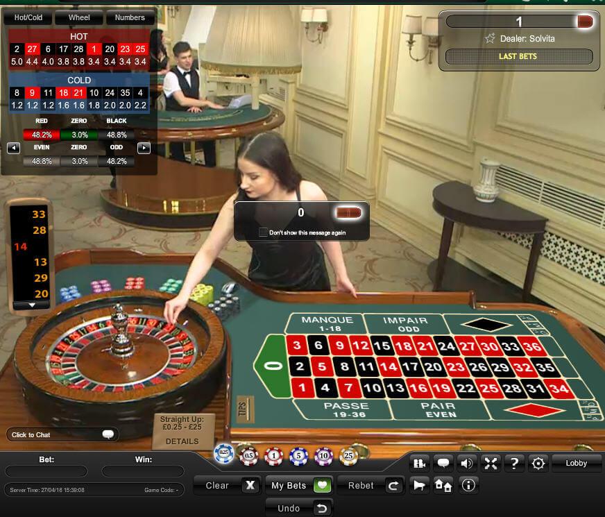 Live roulette - 73236
