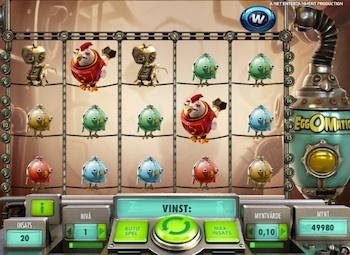 Swirly spin spelautomater - 74181
