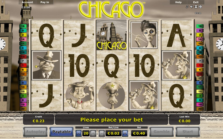 Chicago kortspel freespins - 11602