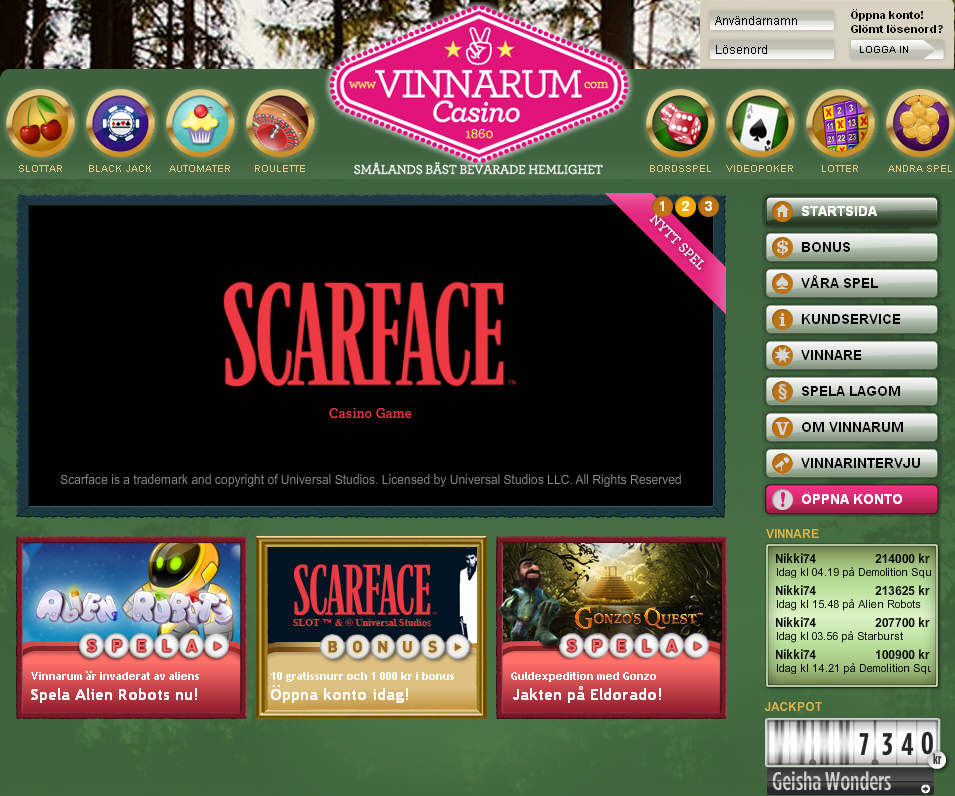 Bästa casino sidor - 48356