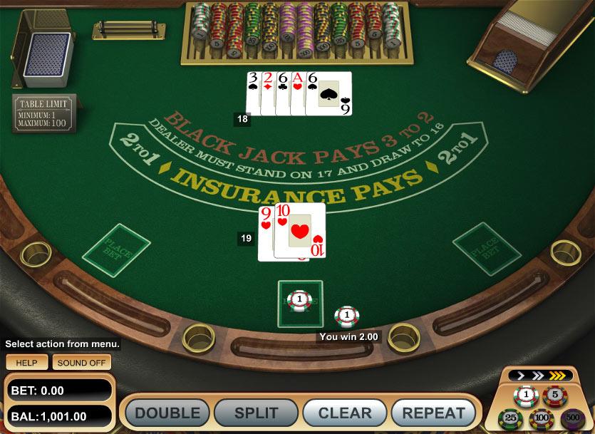 European Blackjack recension - 72556
