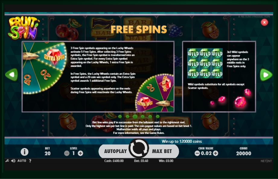 Free spins - 15629