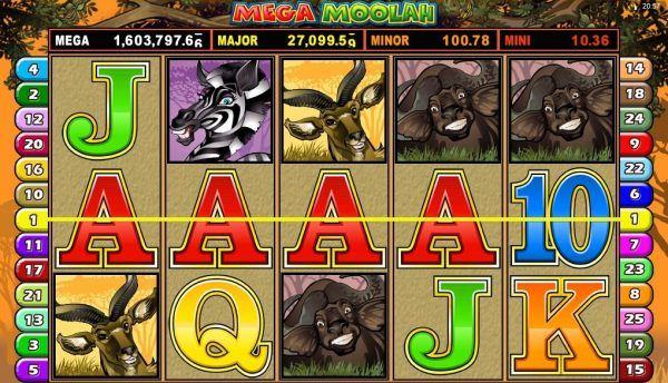 Progressiva jackpottar - 59188