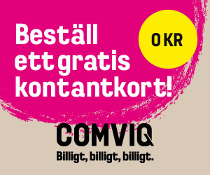 Registrera kontantkort comviq - 89825