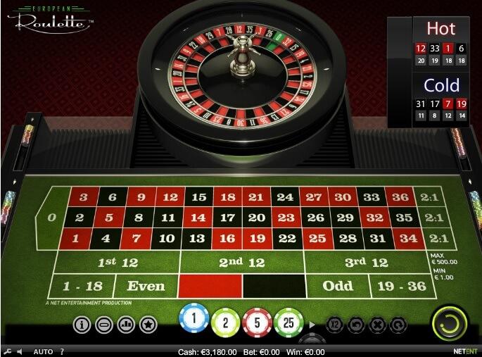 Roulette innehåller speltips - 17363