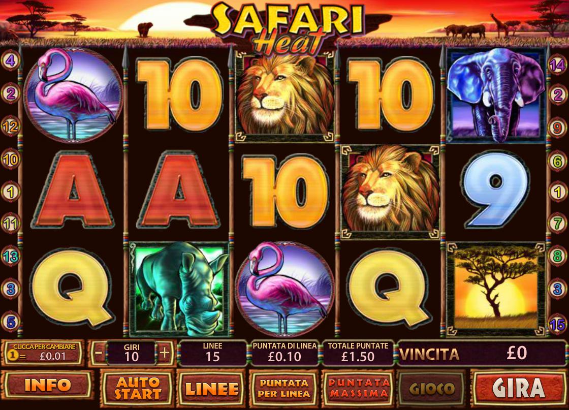 Safari Heat - 83053