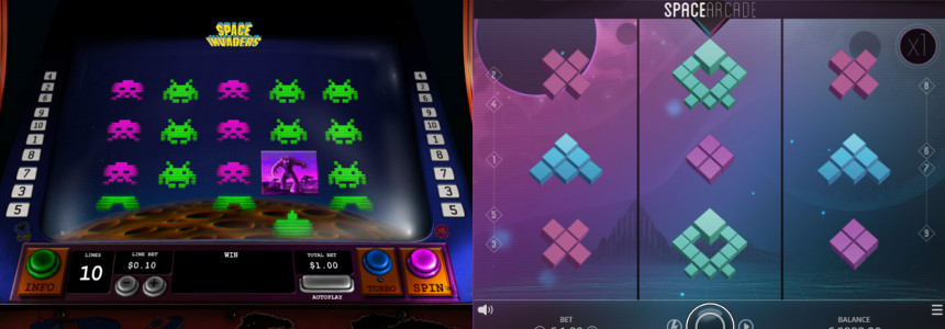 Space Invaders slot - 67978