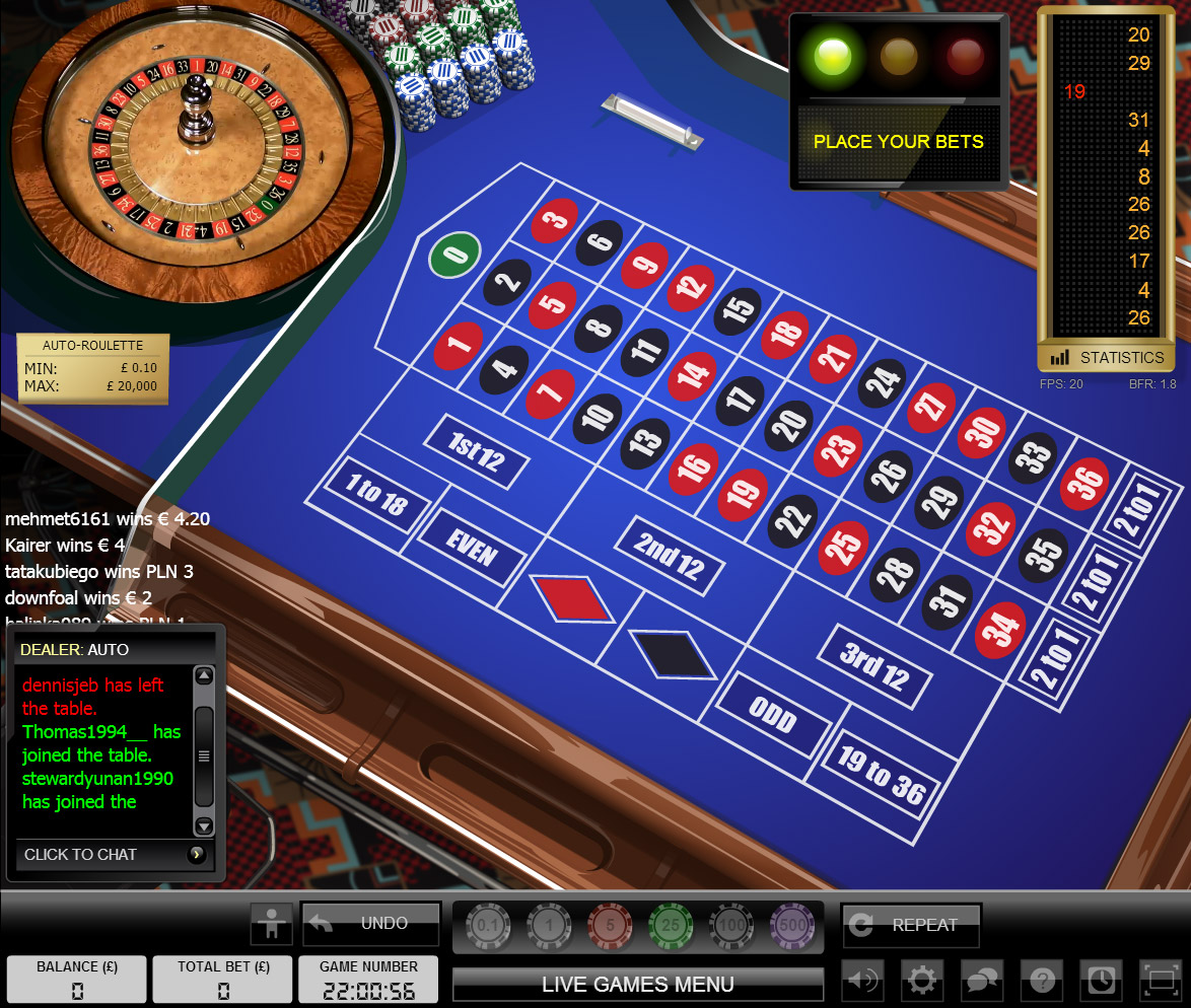 Speltips roulette Unibet - 65945