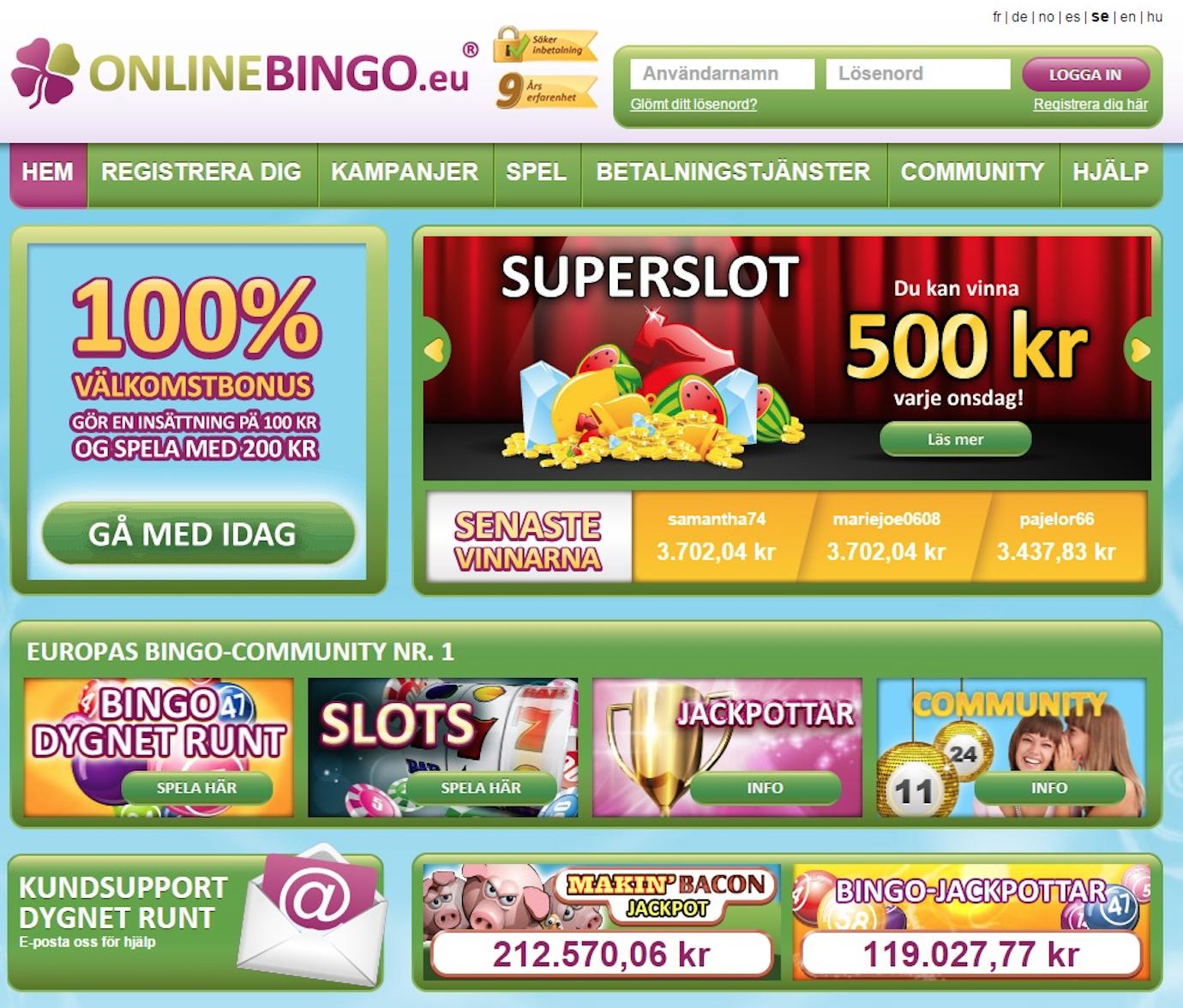Utländska casino online - 46747